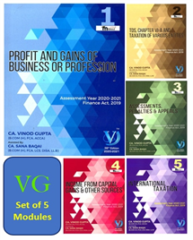 For Nov 20 - Direct Taxes (Set of 5 Modules)