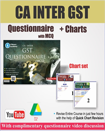 GST Questionnaire with MCQ & Chart Set Combo