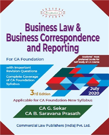 Business Law & Business Correspondences and Reporting
