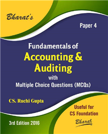 Fundamentals of Accounting & Auditing for CS Foundation