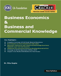 Cracker - Business Economics & Business and Commercial Knowledge