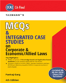 MCQs and Integrated Case Studies on Corporate & Economic/ Allied Laws