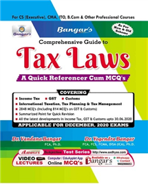 Comprehensive Guide to Tax Laws A Quick Referencer Cum MCQ