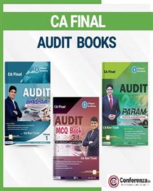 CA Final Audit Books (Set of 5 Books)