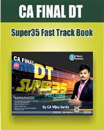 Direct Taxes Super 35 Summary Book
