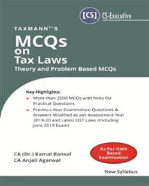 MCQs on Tax Laws