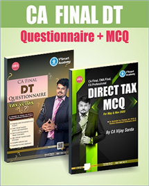 Direct Taxes Questionnaire + MCQ Book
