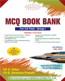 Group I MCQ Book Bank