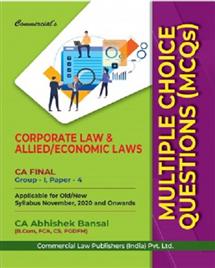 MCQs Corporate Economic & Allied Laws