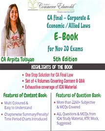 E-Book Nov 2020 Corporate & Allied/Economic Laws (5th Edition)
