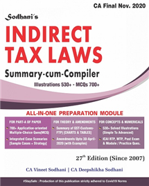 Indirect Tax Laws Summary Cum Compiler