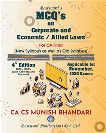 MCQs on Corporate and Allied Laws and Economic Laws