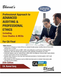 Professional Approach to Advanced Auditing & Proffesional Ethics