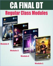 Direct Taxes Regular (Set of 4 Modules)