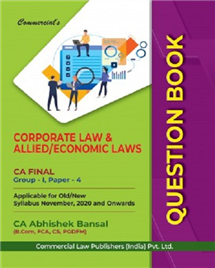 Question Book Corporate Economic & Allied Laws