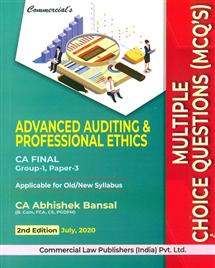 MCQ's Advanced Auditing & Professional Ethics