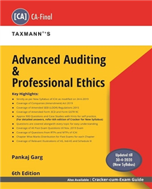Advanced Auditing & Professional Ethics (Main Book)