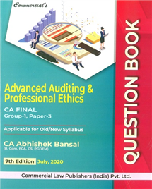 Questions Book Advanced Auditing & Professional Ethics