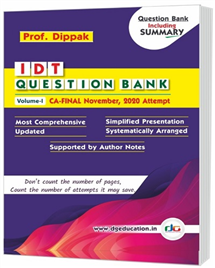 Coloured  - IDT Question Bank - (Set of 2 Volumes)