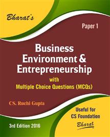 Business Environment & Entrepreneurship for CS Foundation