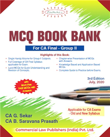 Group II MCQ Book Bank