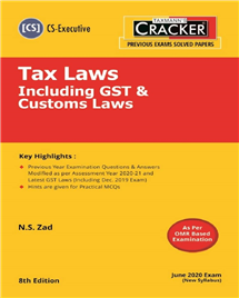 Cracker - Tax Laws Including GST & Customs Laws
