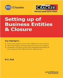 Cracker - Setting up of Business Entities & Closure