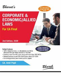 Corporate & Economic/ Allied Laws