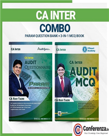 CA Inter PARAM Question Bank + 3-IN-1 MCQ Book