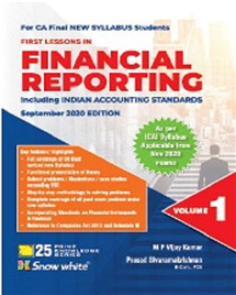 Financial Reporting Including Indian Accounting Standards In 2 Volumes