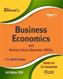 Business Economics for CS Foundation
