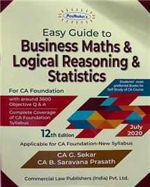 Easy Guide To Business Maths And Logical Reasoning & Statistics