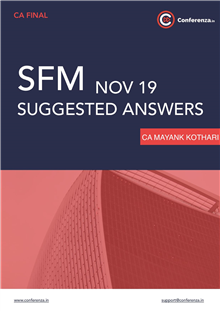 SFM Suggested Answers Nov 19