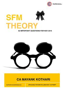 SFM Theory Important Questions Nov 19