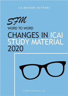Amendments in SFM Study Material by ICAI (Word to Word Changes)
